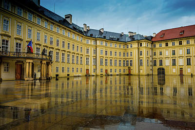 Photograph - Prague Royal Palace by M G Whittingham