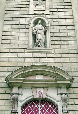 Photograph - Prague - St. Francis Church by Ann Horn