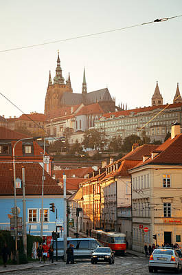 Photograph - Prague Street View by Songquan Deng