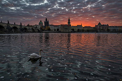 Photograph - Prague Sunrise by Stuart Litoff
