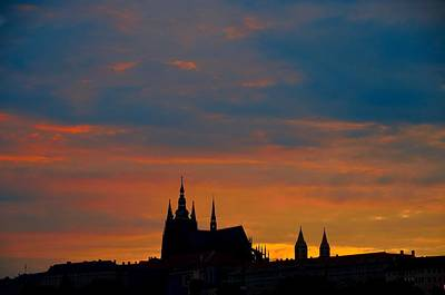 Photograph - Prague Sunset by Steven Richman