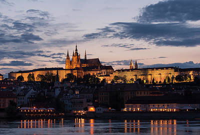 Photograph - Prague Twilight by Alex Lapidus