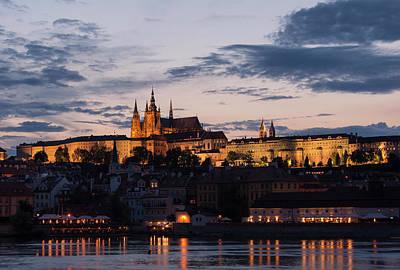 Photograph - Prague Twilight by Alex Lapidus