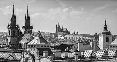 Photograph - Prague's Rooftops by Jiri Vatka