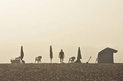 Praia Da Figueira Portugal Art Print
