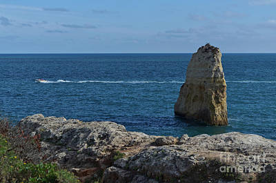 Photograph - Praia Do Carvalho In Algarve by Angelo DeVal