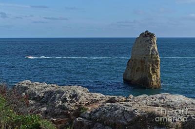 Photograph - Praia Do Carvalho In Algarve by Angelo DeVal