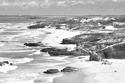 Photograph - Praia Do Malhao Alentejo Portugal by Marek Stepan