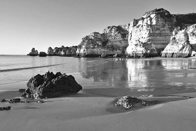 Photograph - Praia Dona Ana Beach Lagos Portugal by Marek Stepan