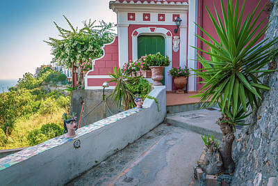 Photograph - Praiano Pathway by David Cote