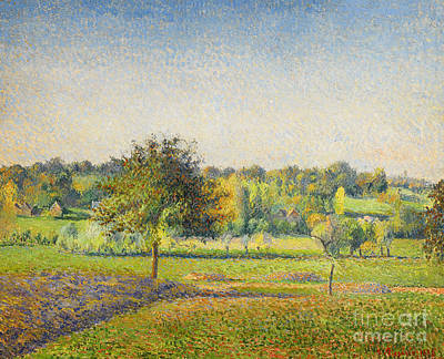 Painting - Prairie A Eragny by Camille Pissarro