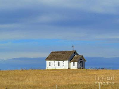 Photograph - Prairie Churrch by Desiree Paquette