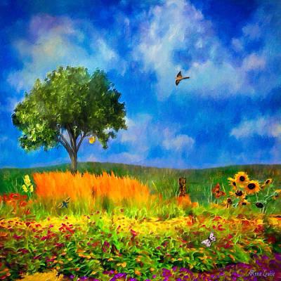 Photograph - Prairie Enchantment by Anna Louise