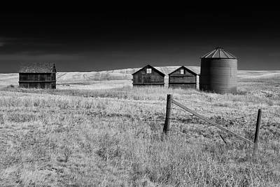 Photograph - Prairie Farm by Celine Pollard