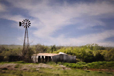 Photograph - Prairie Farm by Lana Trussell