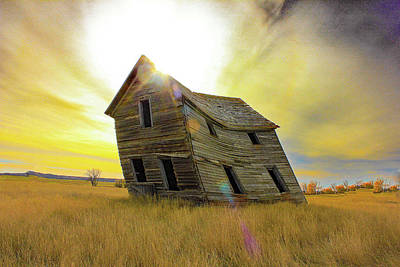 Photograph - Prairie Home by Frank Vargo