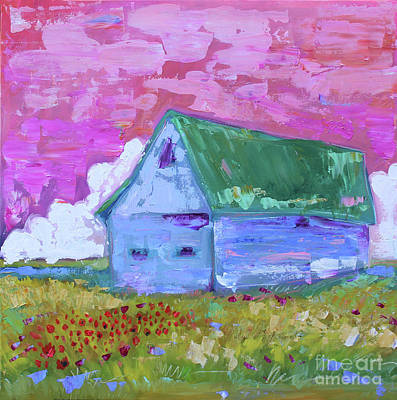 Painting - Prairie Home by Nicole Gaitan
