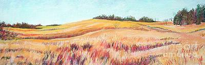 Painting - Prairie IIi by Lucinda  Hansen