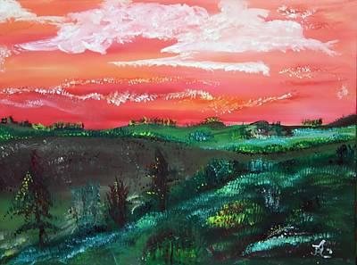 Prairie Painting - Prairie Life by James Bryron Love