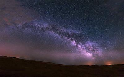 Photograph - Prairie Night's Glitter by Dakota Light Photography By Dakota