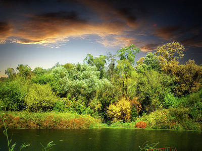 Photograph - Prairie Pond 1 by William Tanata