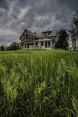 Mammatus Photograph - Prairie Rain  by Aaron J Groen