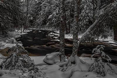 Soap Suds - Prairie River Twin Pines by Dale Kauzlaric
