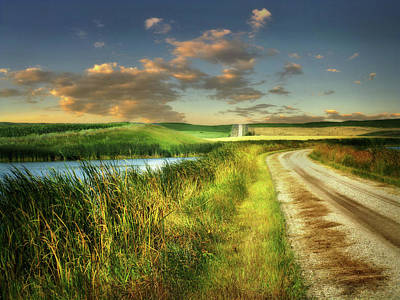 Photograph - Prairie Road 4 by William Tanata