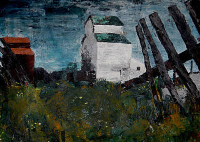 Pallet Knife Photograph - Prairie Scene by John Turner