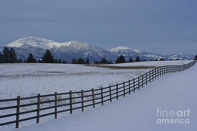 Photograph - Prairie Snow by Idaho Scenic Images Linda Lantzy