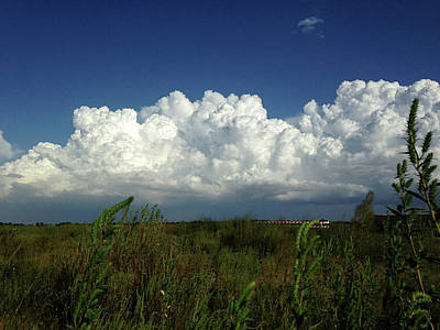 Photograph - Prairie Storm by Connie Fox