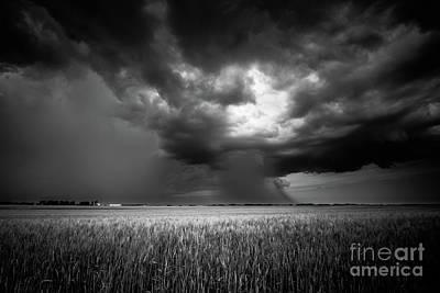 D800 Photograph - Prairie Storm I by Ian McGregor