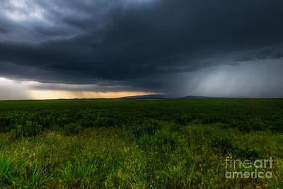Prairie Storm Art Print