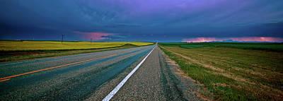 Beautiful Vistas Digital Art - Prairie Storm Saskatchewan by Mark Duffy