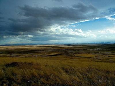 Photograph - Prairie Storm by Tracey Vivar