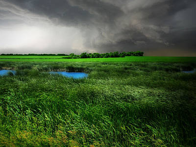Photograph - Prairie Storm by William Tanata
