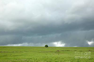 Photograph - Prairie Strm by Betty Morgan