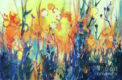 Prairie Sunlit Original by Kathy Braud