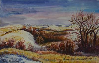 Painting - Prairie Sunrise by Dawn Senior-Trask