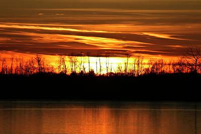 Photograph - Prairie Sunset by Ryan Crouse