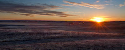 Photograph - Prairie Sunset by Ryan Heffron