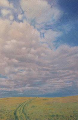 Prairie Trail Art Print