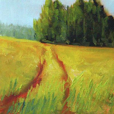 Painting - Prairie Trail by Nancy Merkle