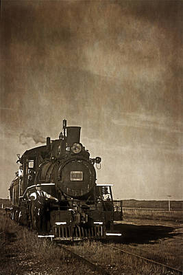 Photograph - Prairie Train - 365-86 by Inge Riis McDonald