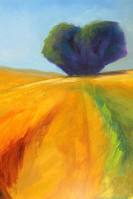 Painting - Prairie Tree by Nancy Merkle
