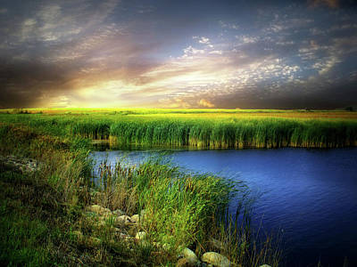 Photograph - Prairie Waters 3 by William Tanata