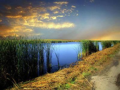 Photograph - Prairie Waters 4 by William Tanata