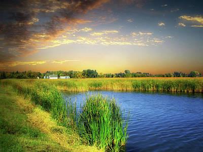 Photograph - Prairie Waters 6 by William Tanata