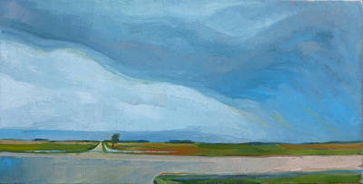 Painting - Prairie Weather by Kim Gordon