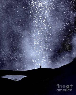 Painting - Praise Him by Wonju Hulse